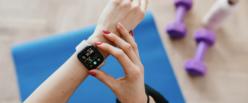 Health app on smart watch